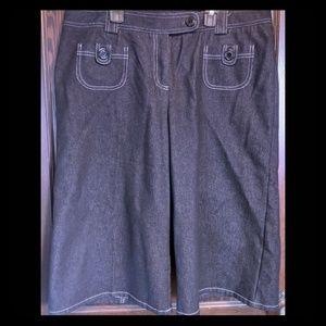 Denim Bermuda shorts (16)
